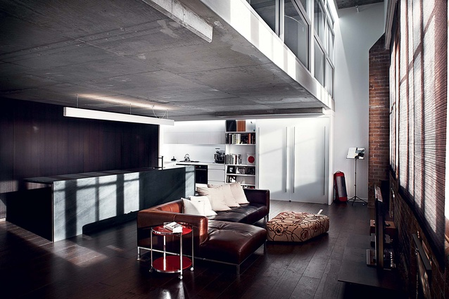 Apartment, Unit or Townhouse winner - Pyrmont Apartment by bokor architecture-interiors.