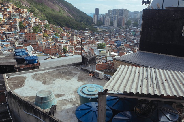Visiting homes in an unpacified area of Rocinha, where the UPP (military police) have not yet established a presence.