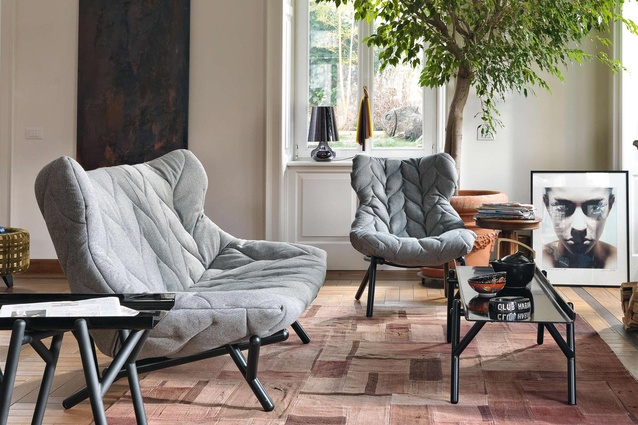 Best Furniture: Foliage Armchair by Patricia Urquiola at Backhouse Interiors.