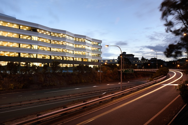 Commercial winner: 133 Molesworth Street by Studio of Pacific Architecture.