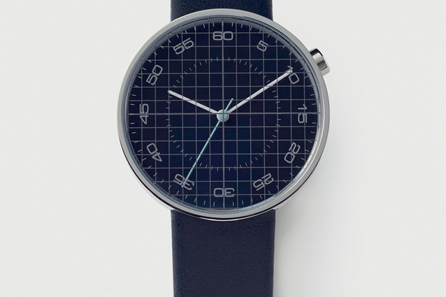 Nendo Draftsman 03 Grid Watch limited edition from 