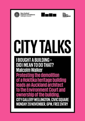 City Talks: Malcom Walker – I bought a building, did I mean to do that?
