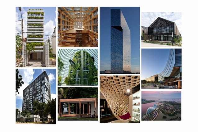 Some of the winners so far at WAF 2012, in Singapore. Details below.