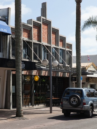 Hospitality & Retail category finalist: Fortieth & Hurstmere, Takapuna, Auckland by McKinney + Windeatt Architects.