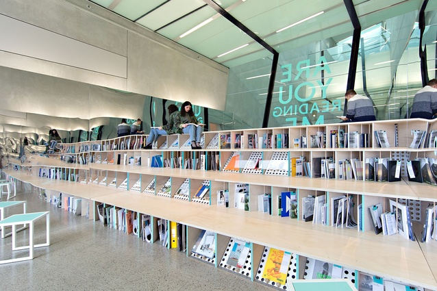 SIBLING's Reading Room at the National Gallery of Victoria (NGV) for the Melbourne Now exhibition.