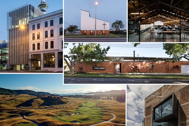 Selected winners of the 2017 New Zealand Architecture Awards.