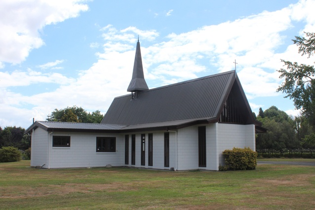 Enduring Architecture Award: St. Stephen's Angelican Church, Tamahere [1972] by Gillman Garry and Clap & Sayers.