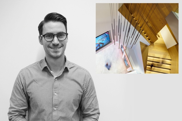 Winner: Emerging Design Professional Award – David Hoad of Warren and Mahoney.
