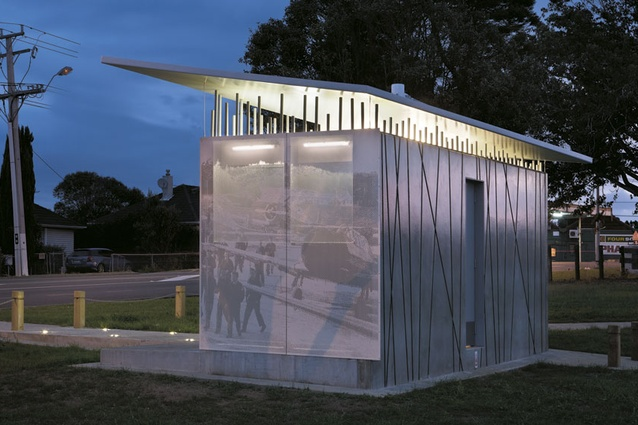 Hobsonville toilet block gets a revamp architecture now Public bathroom design architecture