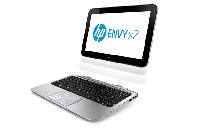 The new HP ENVYx2, a Windows 8 notebook and a tablet in one. RRP $1,299; hp.com/nz