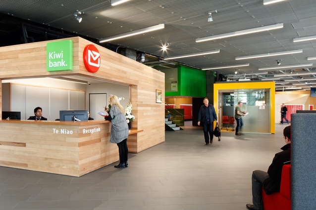 Interior Architecture category winner: New Zealand Post House, Wellington by Jasmax.