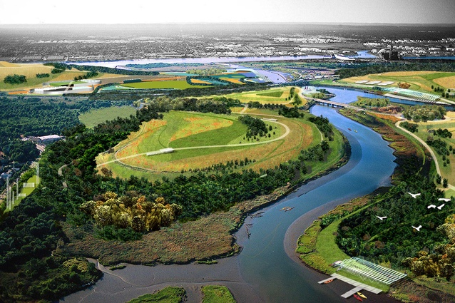 Fresh Kills Park, a project Deborah completed during her time at James Corner Field Operations.