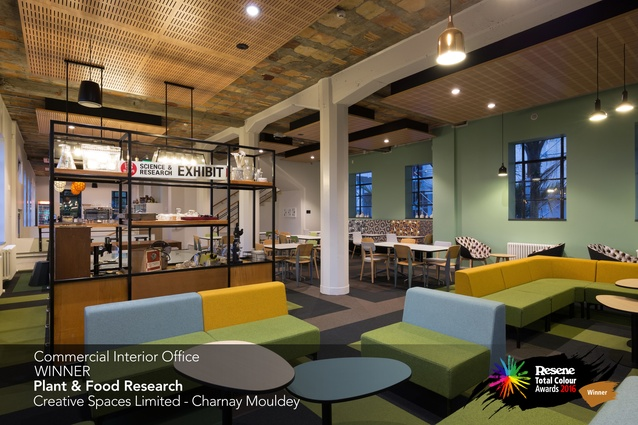 Commercial Interior Office Award winner: Plant & Food Research by Charnay Mouldey of Creative Spaces Limited.