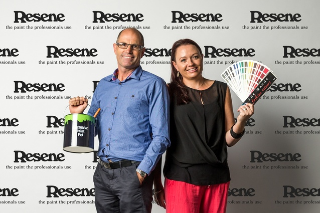 Simon Blincoe – Senior Specifier Architectural Services and Angela Fell – Specifier Colour Services Representative, Resene.