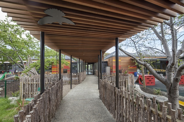 Education Award: OUCA Childcare Centre by Parker Warburton Team Architects.