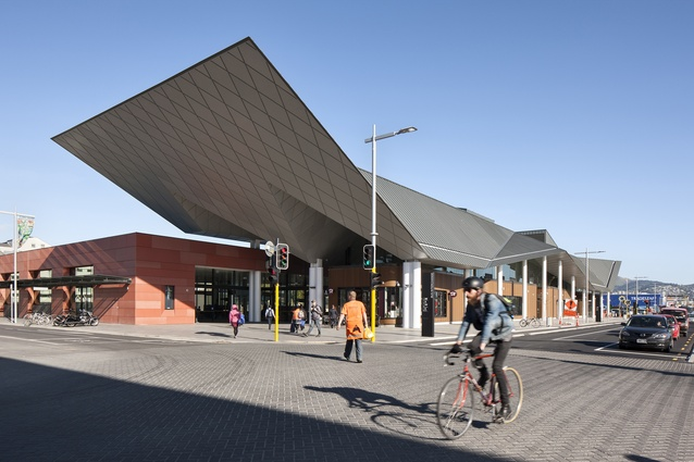 Public Architecture category finalist: Christchurch Bus Interchange/Whakawhitinga Pahi by Architectus.