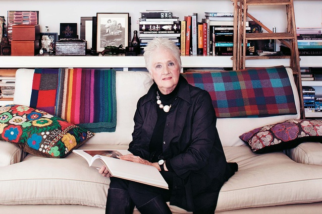 Penny Vernon in her Auckland home.