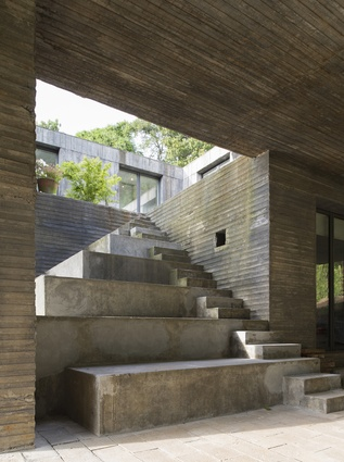 The Guna House is an idea made manifest in concrete form.
