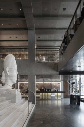 At Six hotel in Stockholm, Sweden, designed by Universal Design Studio, boasts the most ambitious art collection within a hotel in Europe.