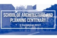 UoA School of Arch & Planning Centenary