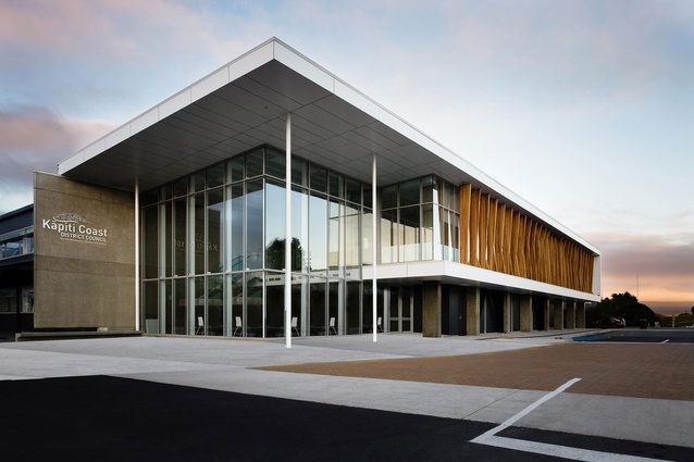 Kapiti Coast District Council Administration Building By Designgroup  Stapleton Elliott Was A Winner In The Commercial