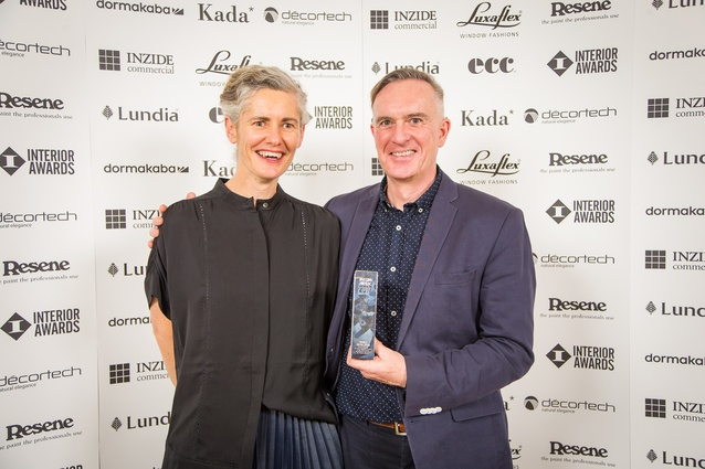 Kathy Waghorn and Dr Charles Walker (Future Islands): winners of the Installation Award for the New Zealand pavilion at the 2016 Venice Architecture Biennale.