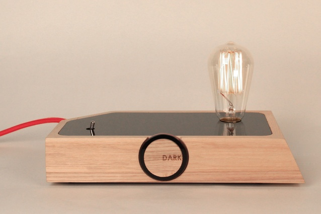Lamp Dark by Hayden Maunsell was the supreme winner of the 2013 Student Craft/Design Awards.