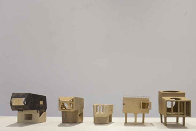 """Artist Isobel Thom creates """"objects to live with"""" in her ILK exhibition at Malcolm Smith Gallery, Howick."""