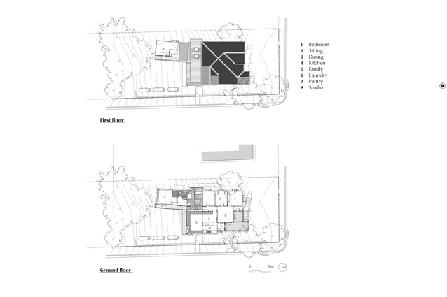 Plans of Auchenflower House by Vokes and Peters.