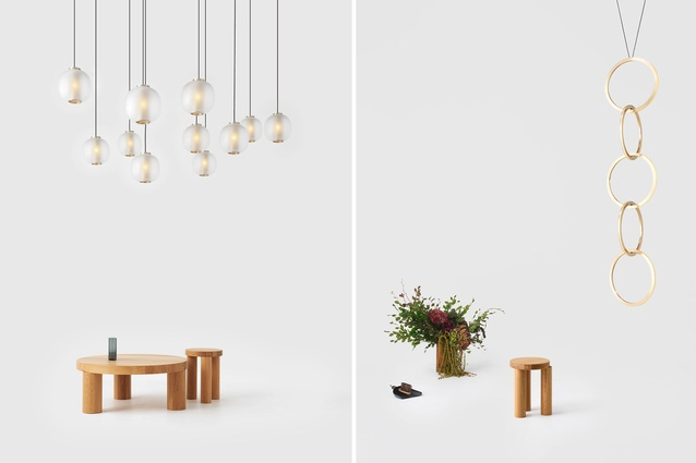 Resident has released a new collection of furniture and lighting entitled Dark Matter.