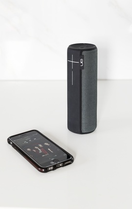 UE Boom wireless speaker: This little device brings portability and avoids the need for extensive wiring. Sid leans towards lounge music with the odd dash of Daft Punk.