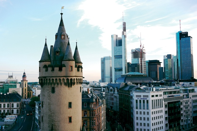 Frankfurt has an eclectic mix of historical and contemporary architecture.
