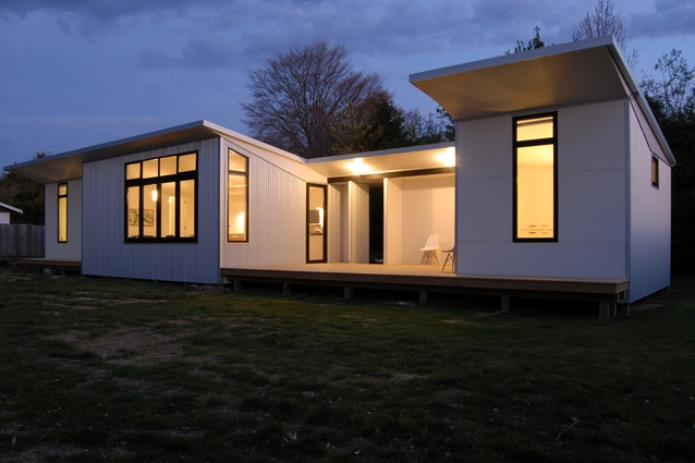 A Cameron Drawing house in Temuka, South Canterbury. Designed in collaboration with the client in 2015.