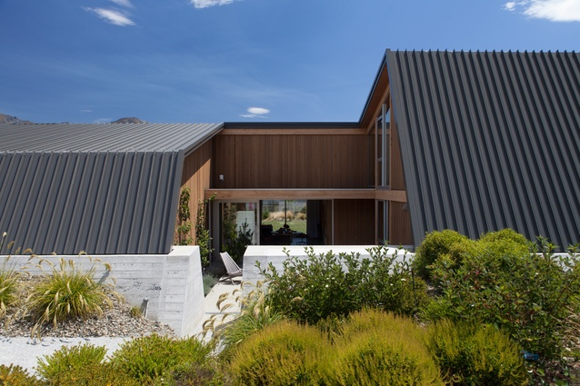 Housing category finalist: Wanaka House by Lovell and O'Connell Architects.