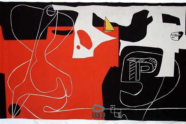 The tapestry <i>Les Dés Sont Jetés</i> by Le Corbusier was commissioned by Jørn Utzon for the Sydney Opera House in 1958.