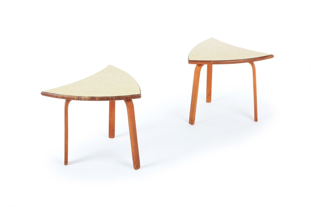 Modular side tables by Tibor Donner.