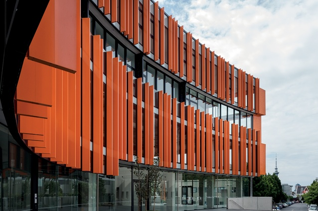 Conceptually, the new building wraps around the old Hall like orange peel, creating a public courtyard as well as access through the site.