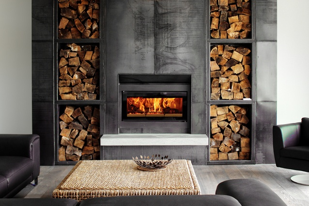 """<a href=""""http://thefireplace.co.nz/stovax_studio_2_nz_wood_fire.html"""" target=""""_blank""""><u>Stovax Riva Studio wood fire</u></a> has low emissions and is New Zealand clean air approved for urban use."""