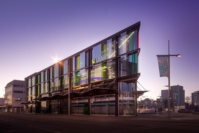 Commercial Architecture category finalist: Stranges and Glendenning Hill Building Replacement, Christchurch by Sheppard and Rout.