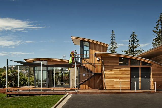 Public Architecture Award: Sumner Surf Lifesaving Club Pavilion by Wilson & Hill Architects.