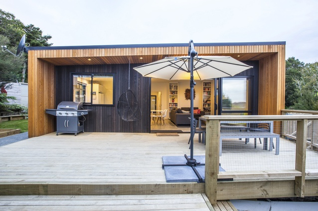 Residential Compact New Home up to 150sqm Architectural Design Award: Kose Family House by Bernie Kose of BK Design.