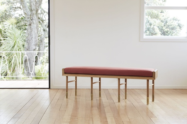 The Aspect bench by Jessica White of Room by Room.