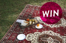 Win an Intrepid Home Sofia picnic rug