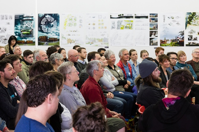Envision co-housing breakfast forum, held at Studio One Toi Tū in Grey Lynn on Thursday 22 September.