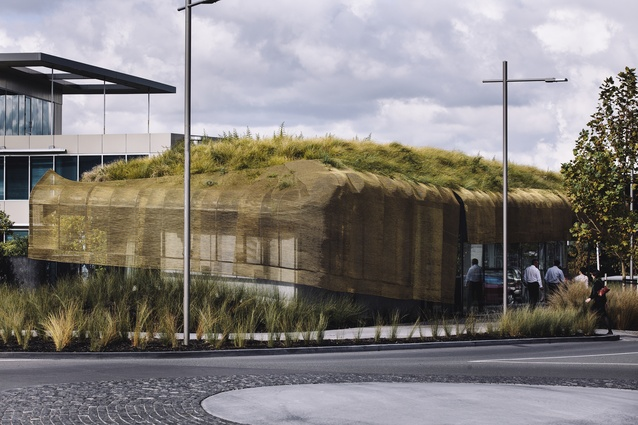 Small Project Architecture winner: Te Kaitaka – 'The Cloak' by Fearon Hay Architects.
